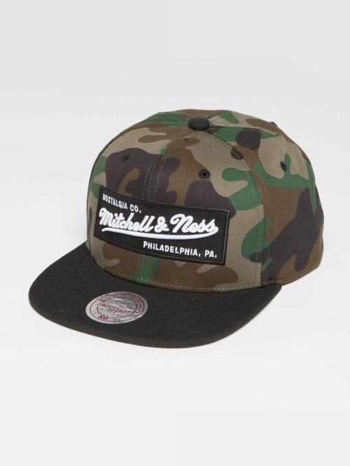 Mitchell & Ness Snapback Caps Own Brand Box Logo camouflage