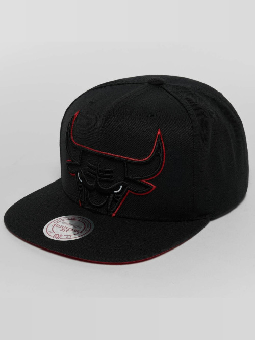 Mitchell & Ness Snapback Caps Raised Perimeter Chicago Bulls musta