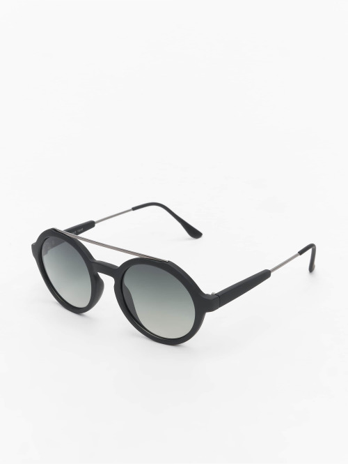 MSTRDS Sonnenbrille Retro Space Polarized Mirror schwarz