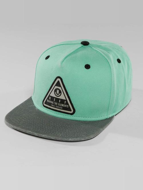 NEFF Snapback Caps X Wash turkoosi