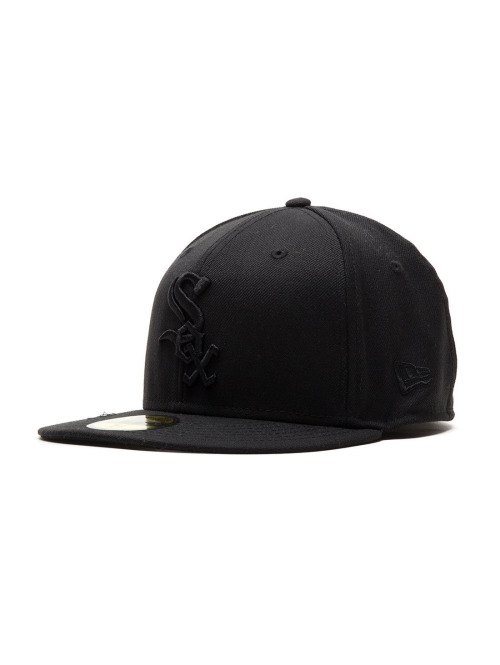 New Era 5 Panel Caps Chicagowhitesox schwarz
