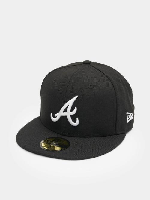 New Era Casquette Fitted MLB Basic Atlanta 59Fifty noir