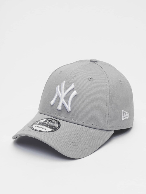 New Era Casquette Snapback & Strapback League Basic NY Yankees 9Forty gris