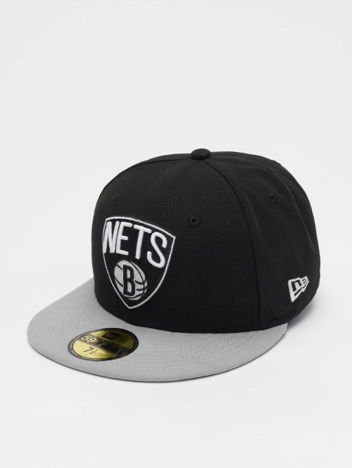 New Era Fitted Cap NBA Basic Brooklyn Nets 59Fifty schwarz