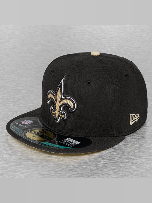 New Era Fitted Cap NFL On Field New Orleans Saints 59Fifty schwarz