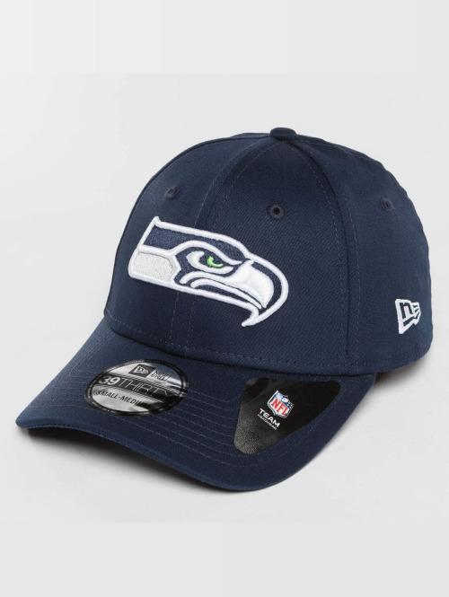 New Era Flexfitted Cap Team Essential Seattle Seahawks blauw