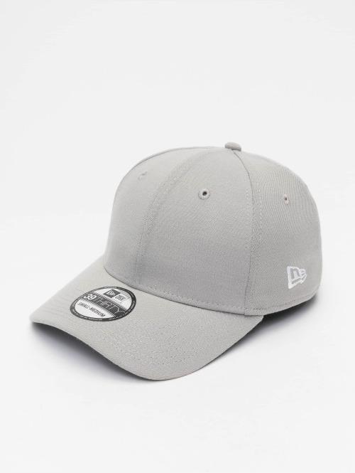 New Era Flexfitted Cap Basic grau