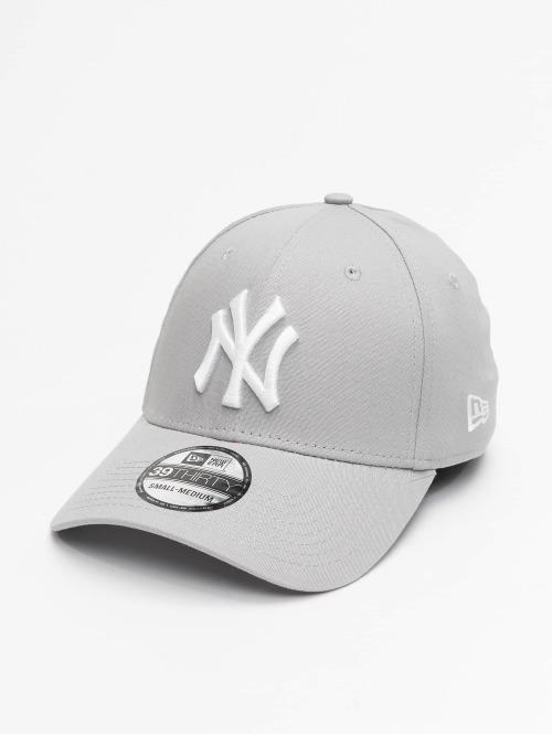 New Era Flexfitted Cap League Basic NY Yankees 39Thirty grau