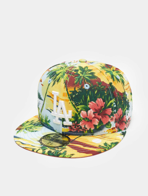 New Era Gorra plana Allover Island LA Dodgers colorido