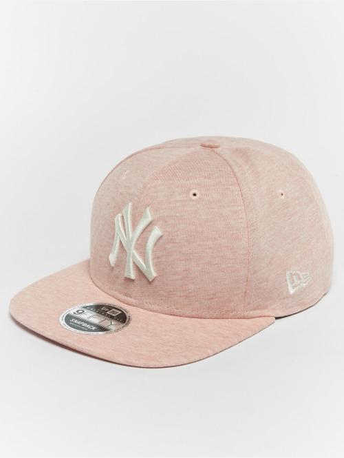 New Era Gorra Snapback Jersey Brights NY Yankees 9Fifty rosa