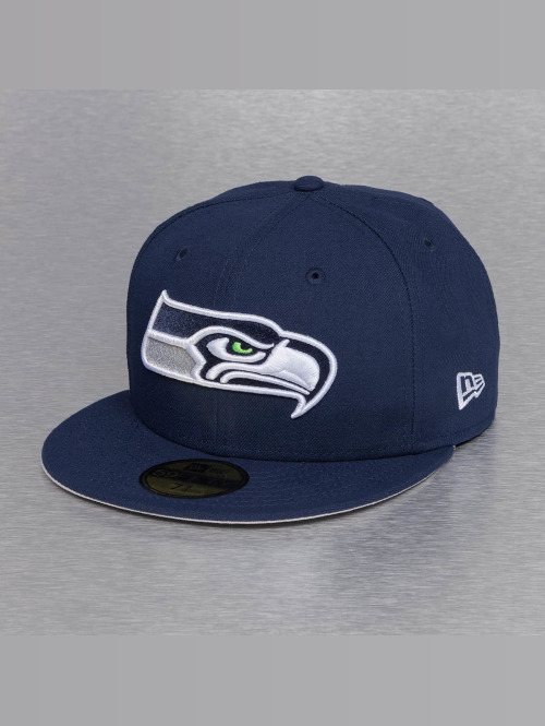 New Era Hip hop -lippikset On Field 15 Sideline Seattle Seahawks sininen