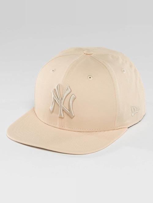 New Era Snapback Cap Nano Ripstop NY Yankees 9Fifty beige