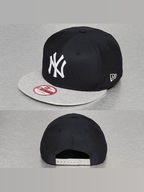 New Era Snapback Cap Jersey Diamond NY Yankees blau