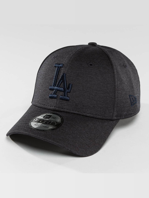 New Era Snapback Cap Jersey Heather blau