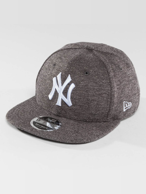 New Era Snapback Cap Slub NY Yankees 9Fifty grau
