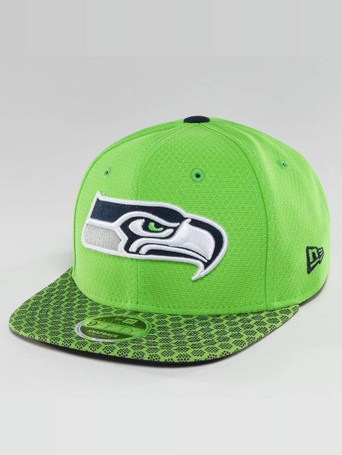 New Era snapback cap NFL On Field Seattle Seahawks 9Fifty groen