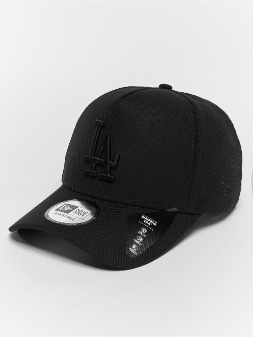 New Era Snapback Cap Diamond LA Dodgers A Form nero