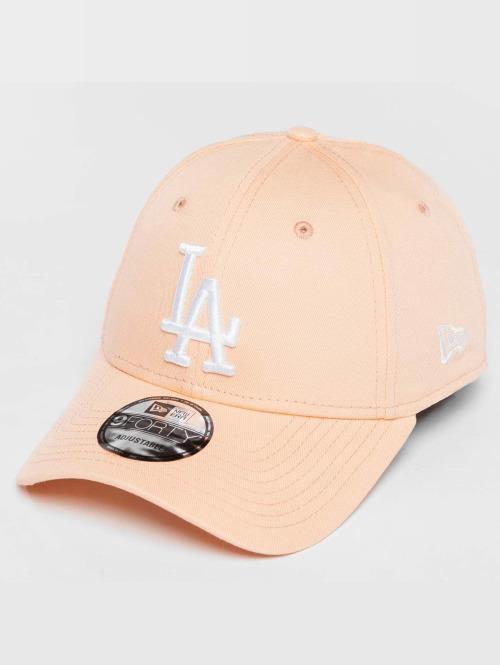 New Era Snapback Cap League Essential LA Dodgers orange