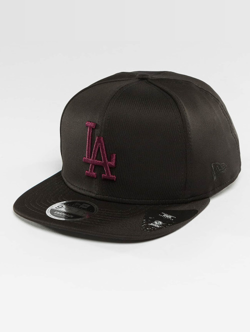 New Era Snapback Cap Jersey Tech LA Dodgers 9Fifty schwarz
