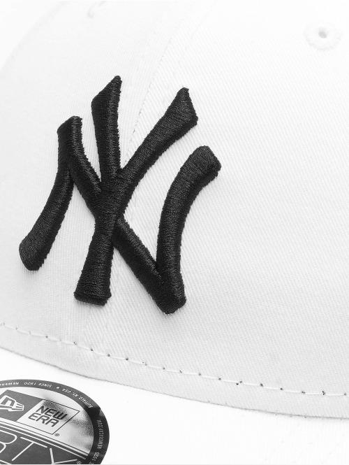 New Era Snapback Cap League Basic NY Yankees weiß