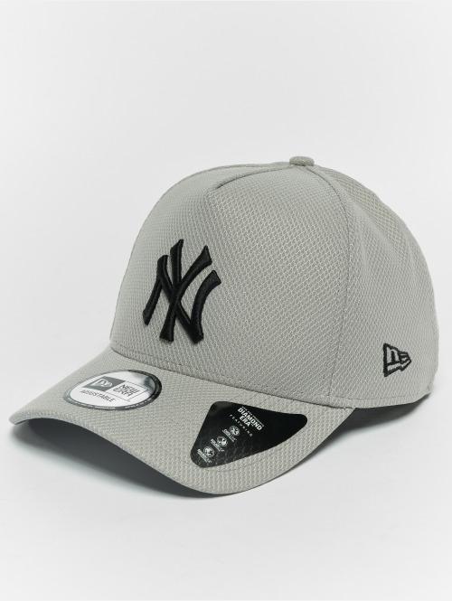 New Era Snapback Caps Diamond NY Yankees A Form grå