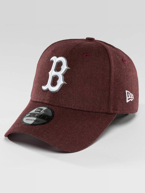 New Era Snapback Caps Seasonal Heather Boston Red Sox punainen