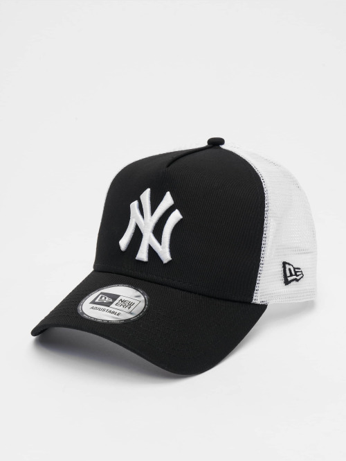 New Era Trucker Cap Clean NY Yankees schwarz