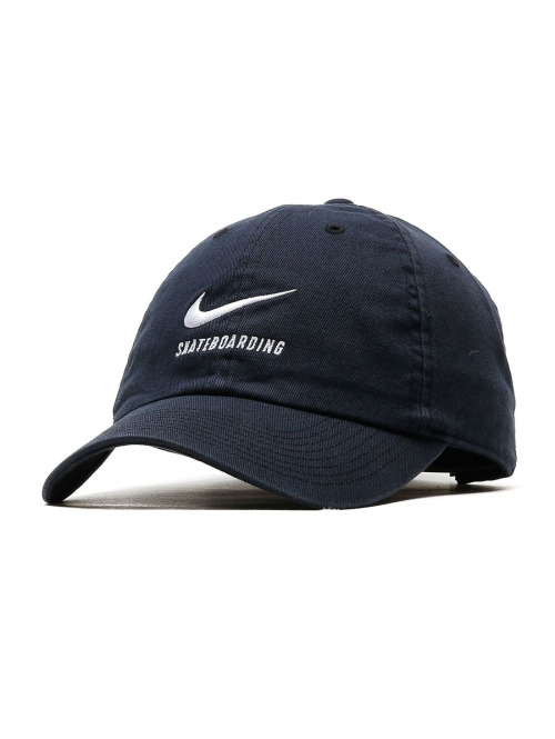 Nike SB Fitted Cap Heritage 86 Twill Cap schwarz