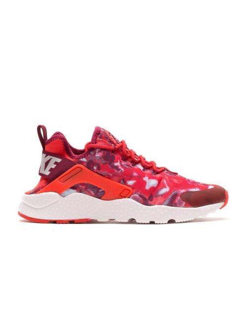 Nike Sneaker Air Huarache Run Ultra Print rot