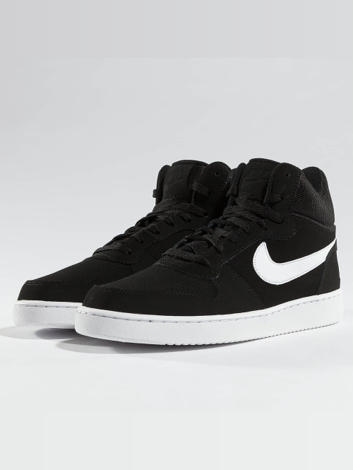 Nike Sneaker Court Borough Mid schwarz