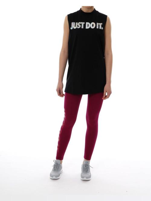 Nike Top  schwarz