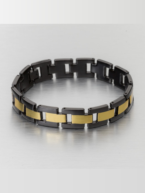 Paris Jewelry armband Stainless Steel zwart