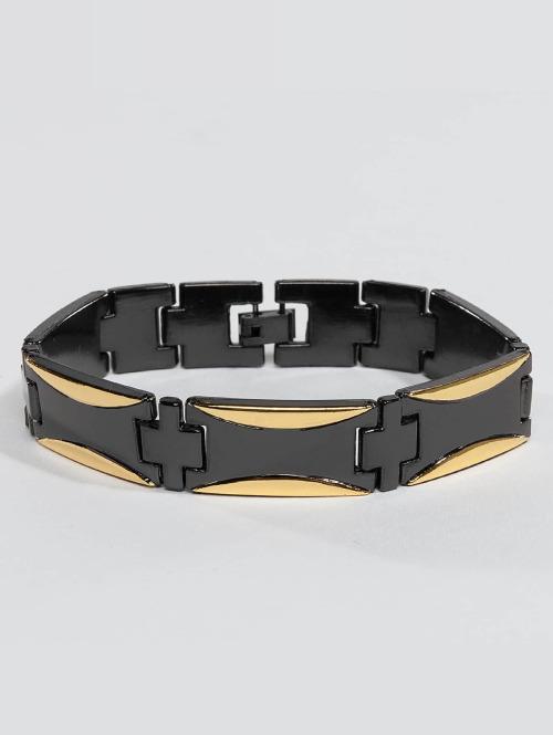 Paris Jewelry armband Stainless Steel zwart