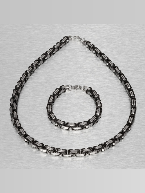Paris Jewelry Kette Bracelet and Necklace silberfarben