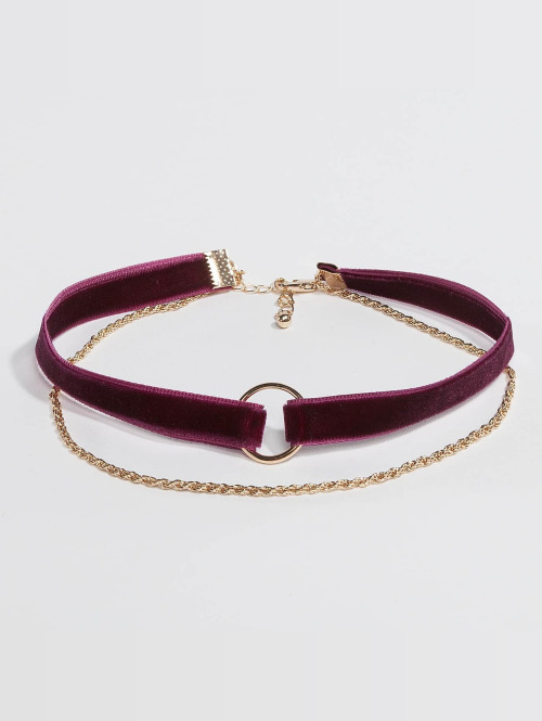 Pieces Collier pcNovana rouge