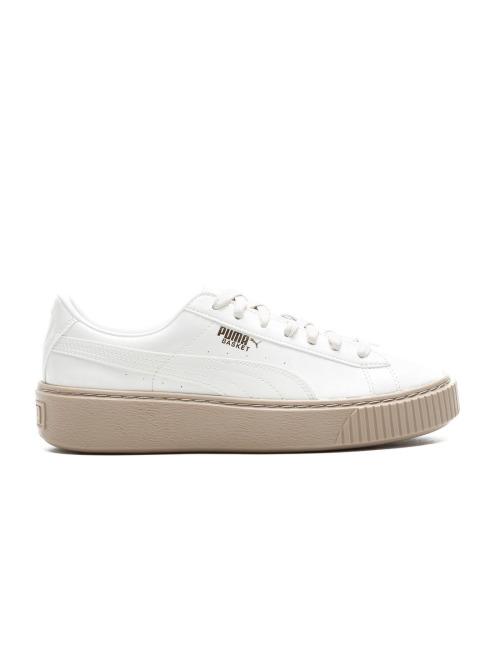 Puma Sneaker Basket Platform weiß