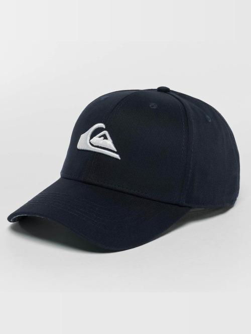 Quiksilver snapback cap Decades Print blauw