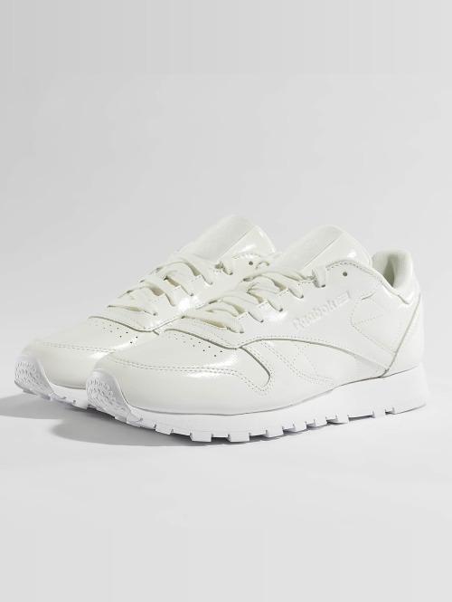 Reebok Sneaker Classic Leather Patent weiß