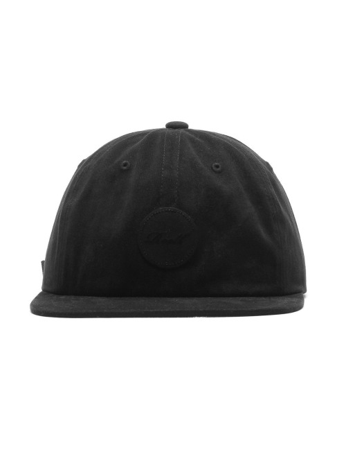 Reell Jeans Fitted Cap Flat schwarz