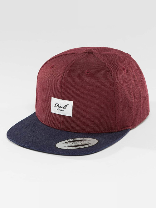 Reell Jeans snapback cap Pitchout rood