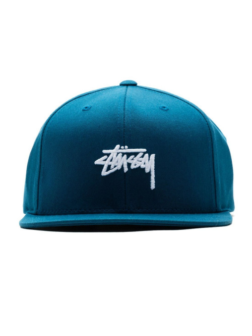 Stüssy 5 Panel Caps Stock Sp18 blau
