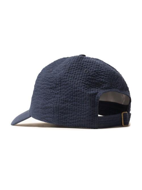 Stüssy Fitted Cap Seersucker blau