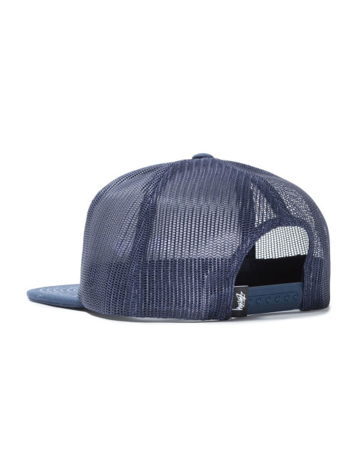 Stüssy Fitted Cap  blau