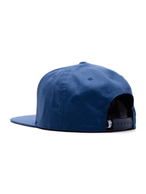 Stüssy Fitted Cap Stock Su18 blau