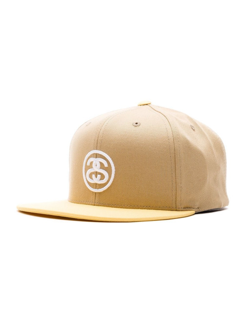 Stüssy Fitted Cap Ss-Link Su18 gelb