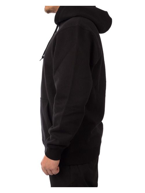 Stüssy Hoody Stock Applique schwarz