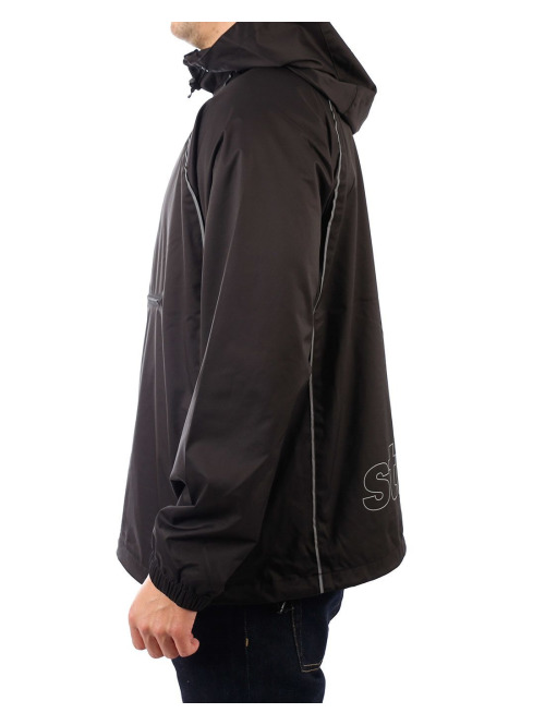 Stüssy Pullover 3m Piping schwarz