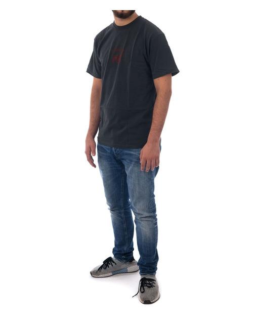 Stüssy T-Shirt Stock Lion Pigment Dyed grau