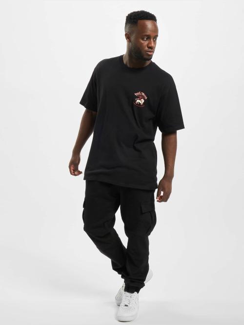 Stüssy T-Shirt Ital Youth schwarz