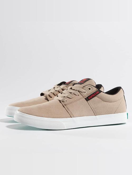 Supra Sneaker Stacks Vulc II beige